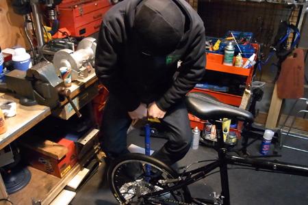 自転車屋POP ゴールドサポート